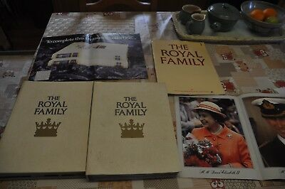 The Royal Family Magazines By Orbis - Vol 1 & 2 Complete In Binders