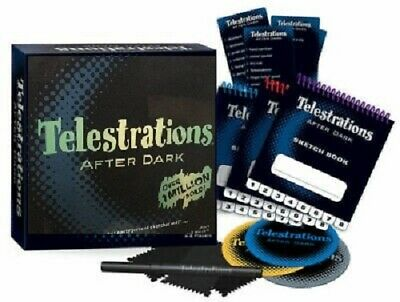Telestrations After Dark Board Game Family Cards Kids Adult Toys Party Game Gift