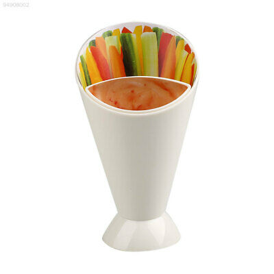 118A Creative Convenient Snack Stand Serve Holder Fries Chips Finger Food