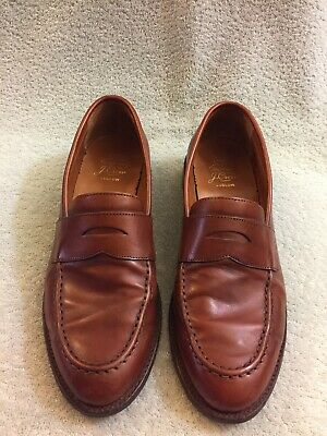 7f0b5f00135 JCREW LUDLOW LEATHER Penny Loafers Shoes  298 11 cigar brown a4362 ...