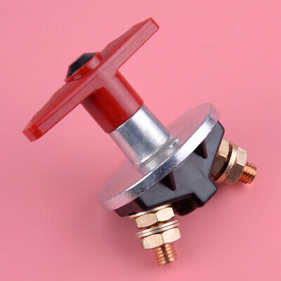 Car Battery Cut Off Switch 12V-60V 300A Car Universal Fixed Key Battery Cut Off Switch Disconnect Power Isolator