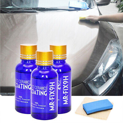 9H:Liquid Nano Ceramic Car Glass Coating Super Hydrophobic Anti-Scratch Polish G