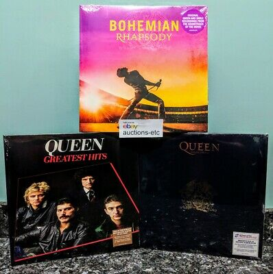 Queen Greatest Hits I and II + Bohemian Rhapsody Vinyl Records 6LP NEW 1 2