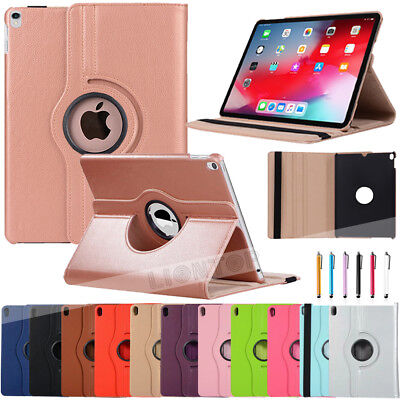 """360 Rotate PU Leather swivel Cover Case for Apple iPad Air 10.5"""" 2019 New Tablet"""