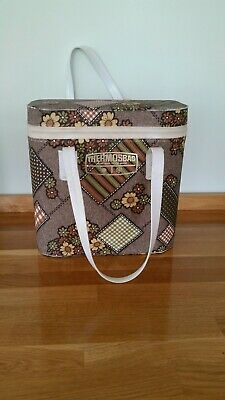 Vintage Retro 1970s Thermos Cool Bag / Picnic Camping