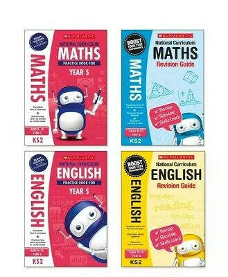 Scholastic Year 5 SATs Revision English & Maths Book Pack (RRP £27.96)