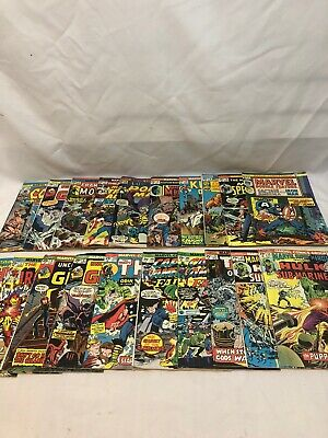 Lot of 20 Mixed marvel comics 25 Cent 1970s Lot No 4#