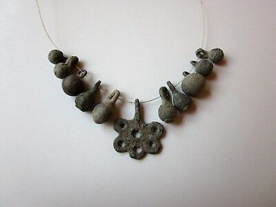 ancient Viking period bronze necklace 8-10 A.D. - WEARABLE.