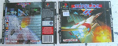 STARBLADE α (1994) PLAYSTATION 1 COVER, NO DISCO