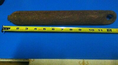 """ANTIQUE Window Weight Boat Anchor 13"""" And 6 Pounds 10 Ounces Sash Upcycle"""