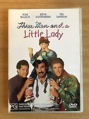 THREE MEN AND A LITTLE LADY - DVD Region 4 - BRAND NEW!!!