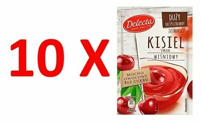 10X Delecta Water Based Kissel Jelly Cherry 58g