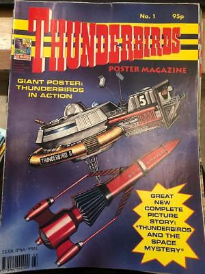 Thunderbirds Poster magazine Issue 1 Gerry Anderson
