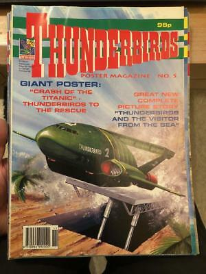 Thunderbirds Poster magazine Issue 5 Gerry Anderson