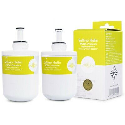 2x Samsung Aqua-Pure PLUS DA29-00003G Replacement Water Filter from Seltino