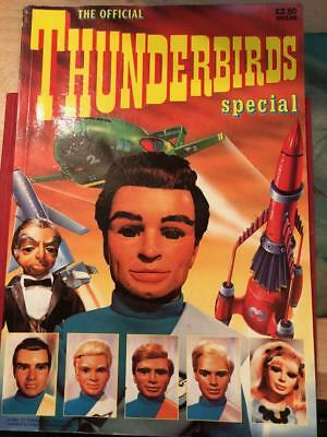 The Official Thunderbirds Special SOFTBACK Annual 1992 Gerry Anderson