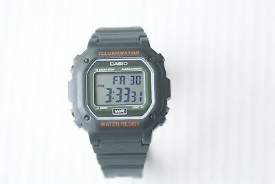 Casio Digital Watch 3224 F-108WH Illuminator Water Resist F108WH - Works Great!