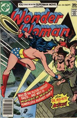 SALE! Wonder Woman #235 ~ Sept 1977 ~ 7.0 FN/VF ~ Nice Copy! ~ Bronze Age