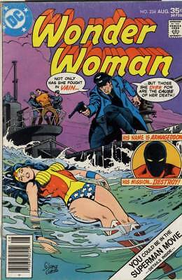SALE! Wonder Woman #234 ~ Aug 1977 ~ 7.0 FN/VF ~ Nice Copy! ~ Bronze Age