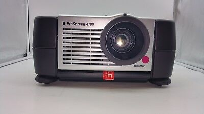 Philips ProScreen LC 4100 Billiance Large Projector VGA RCA S-Video