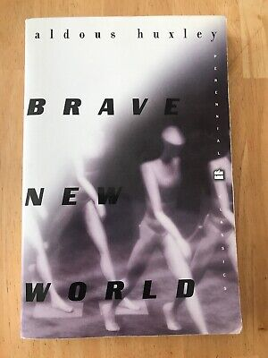 Brave New World by Aldous Huxley (1998, Paperback) Good Book