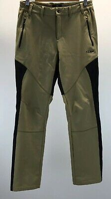 feef49b4af L.L.Bean Womens Snowboard Ski Snow Fleece-Lined Waterproof Pants Beige Size  S