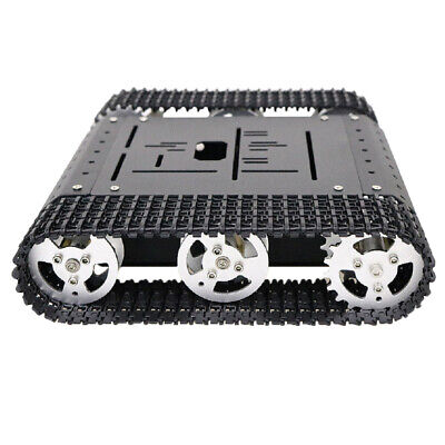Obstacle Avoidance Double Shock Absorption Robot tank Chassis Car 12V 300rpm