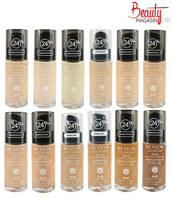 Revlon ColorStay 24 Hours Makeup Foundation 30ml - Choose Your Shade