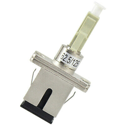 SC Female LC male LC-SC Flanged Adapter male-female Optic Fiber Adapter 62.5/125