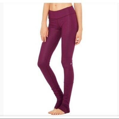 e500ef36bc ALO YOGA IDOL Glossy Leggings Juneberry Small Perfect - $49.99 ...