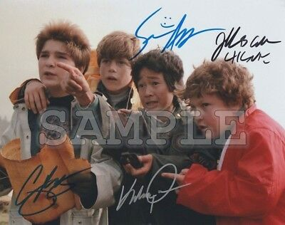 The Goonies Cast Reprint Signed 8x10 Photo Autographed Picture Christmas Gift