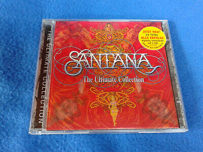 CD SANTANA, The Ultimate Collection, 2 CD Pack, 39 Titel.
