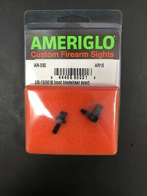 Ameriglo Tritium Night Sight Set, Green Front/Rear