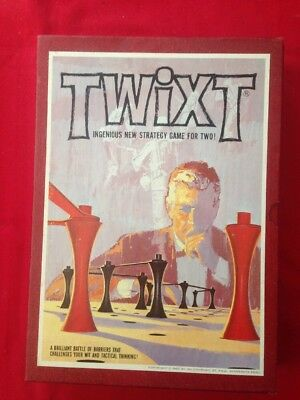 "Vintage 1962 Twixt"" Strategy Bookshelf Board Game Complete In Box Nice Condition"