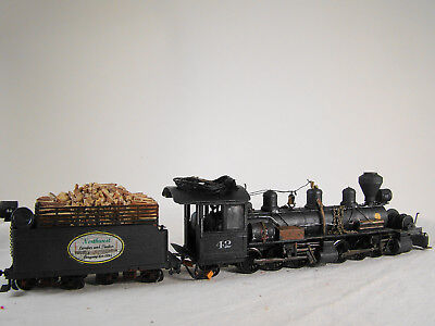 custom weathered lot1 4  Ho On30 Empty Logging Car goes to the woods  supplies