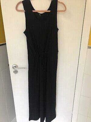 a5f43b26954 UNIQLO BLACK WIDE Leg Jumpsuit