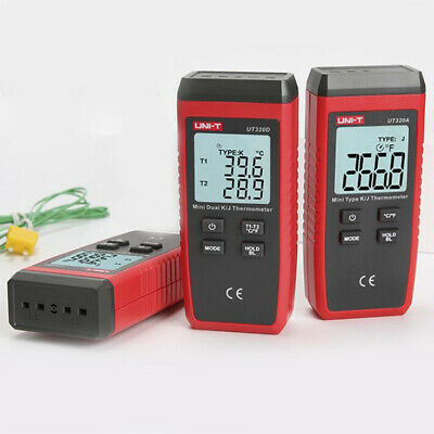 Digital Thermocouple Thermometer LCD Temperature Meter K/J Type Thermometer
