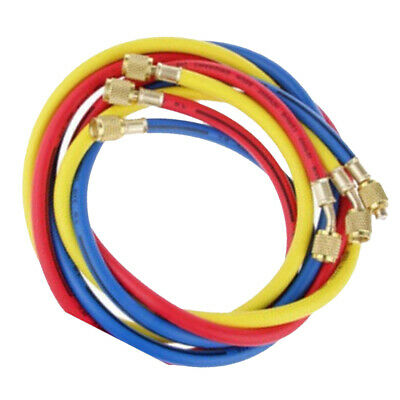 "Refrigeration Charging Hoses for R134A 3 Colors 1/4"" SAE Standard Hoses"