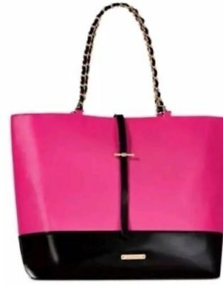 3c4749d2088b Juicy Couture Glam Weekender, Tote Bag - Black Patent Leather, Gold  Accents, NWT