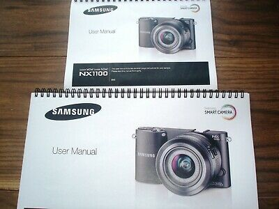 ~PRINTED~ Samsung NX1100 *Full COLOUR* User guide Instruction manual A4 or A5