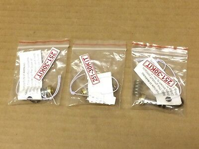 3 X 251-30 Kit Kingston Valve Carpet Valve (1118)