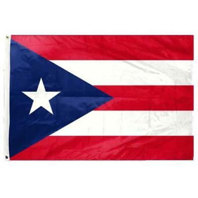 3x5 Puerto Rico Flag Puerto Rican Banner Grommets USA SHIPPING FAST
