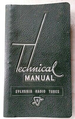 VTG SYLVANIA TECHNICAL Manual Vacuum Tube Radio Electronics