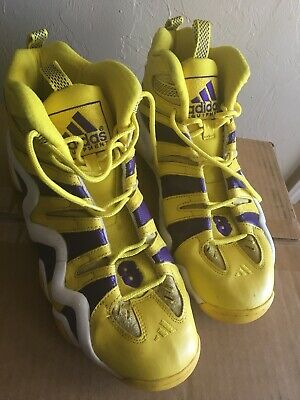 eec59ecd3200 Rare Adidas Crazy 8 Yellow All Star PE Kobe Bryant Sz. 14 Lakers Colorway No