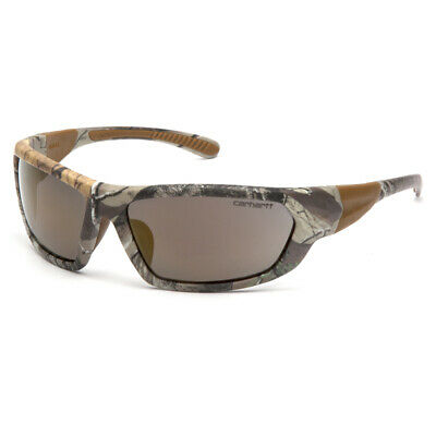 Carhartt  Carbondale  Anti-Fog Safety Glasses  Antique Mirror Lens Realtree Camo