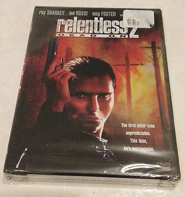 Relentless 2 - Dead On (DVD, 2004) - Rare OOP Leo Rossr Region 1 USA Brand New!