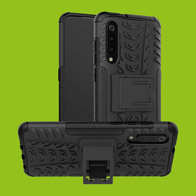 For Xiaomi mi 9 Hybrid 2 Pieces Outdoor Bag Black Cases Sleeve Cover Protection