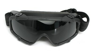 Oakley SI Ballistic Goggle 2.0 with Black Frame and Gray Lens