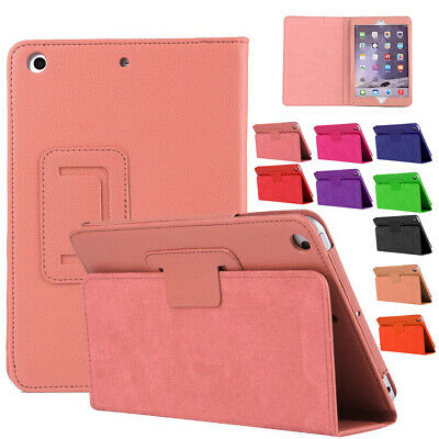 """For Apple iPad 9.7"""" Gen 5th 2017 / 6th 2018 Leather Smart Stand Flip Cover Case"""