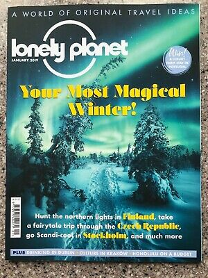 Lonely Planet Travel Magazine January 2019 Edition